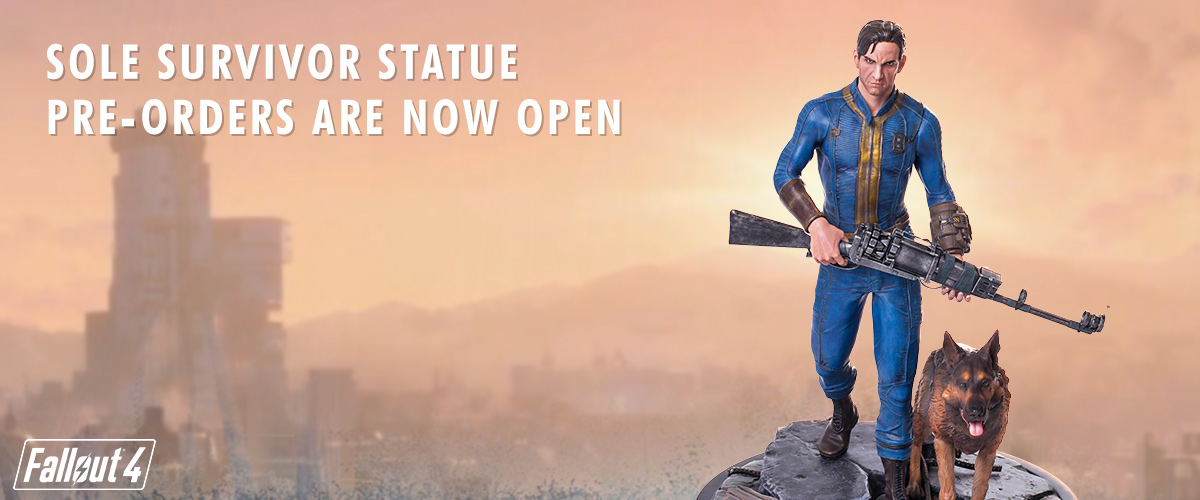 Fallout 4 Sole Survivor resin collectible statue