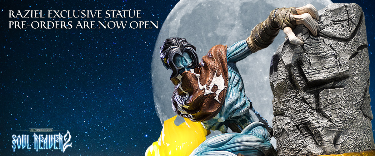 Legacy of Kain, Soul Reaver, Raziel, Statue, Resin, Collectible