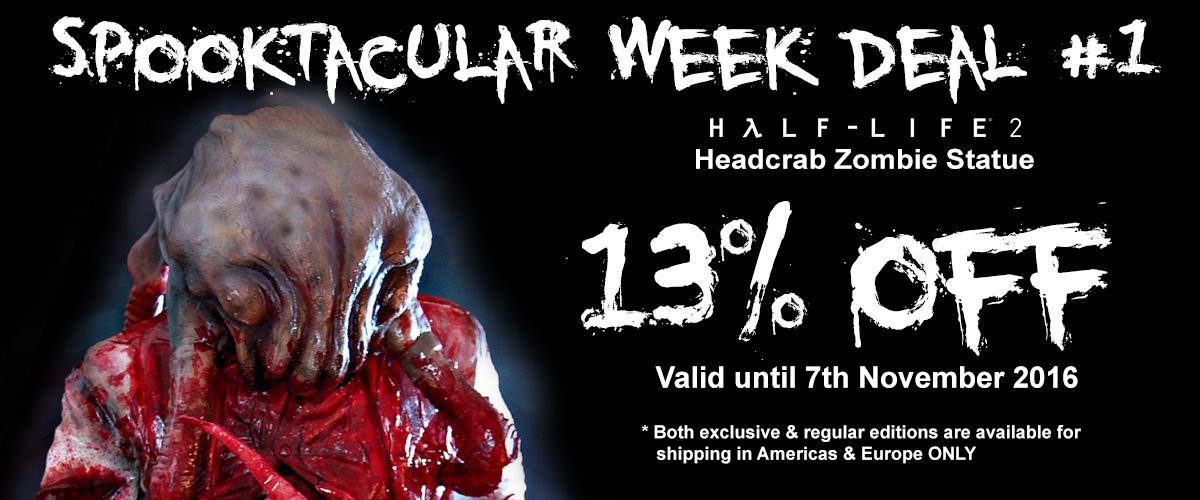 Half Life 2: Headcrab Zombie Statue