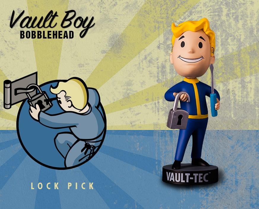 Fallout® 4: Vault Boy 111 Bobbleheads - Series One: Lock Pick