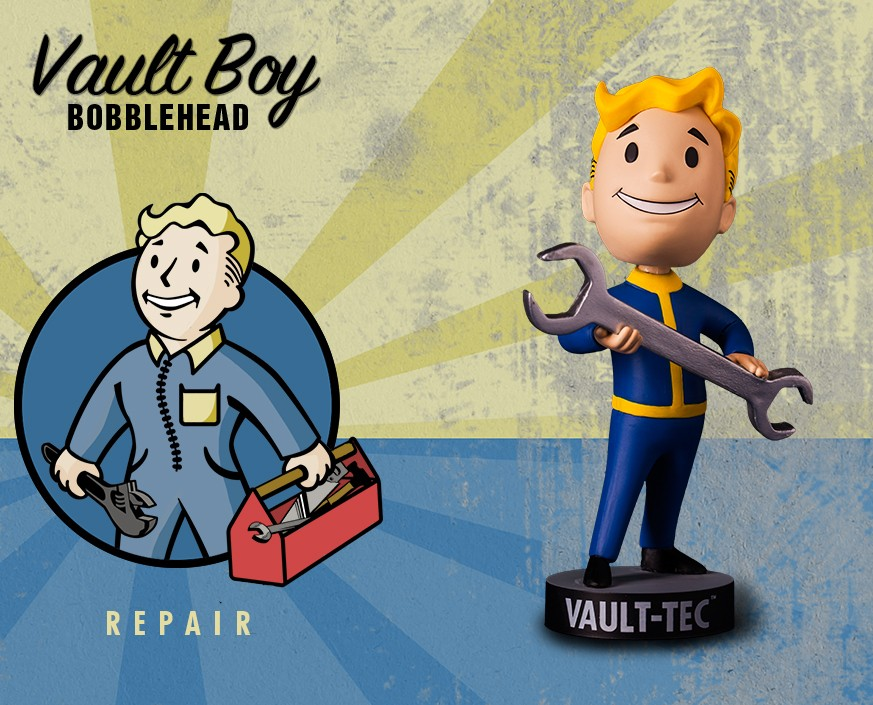 Fallout® 4: Vault Boy 111 Bobbleheads - Series One: Repair