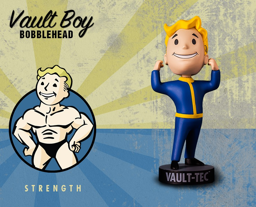 Fallout® 4: Vault Boy 111 Bobbleheads - Series One: Strength