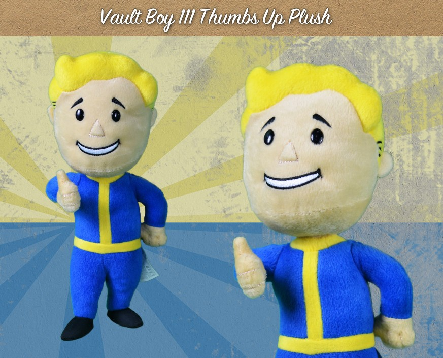 FALLOUT® 4: VAULT BOY 111 THUMBS UP PLUSH