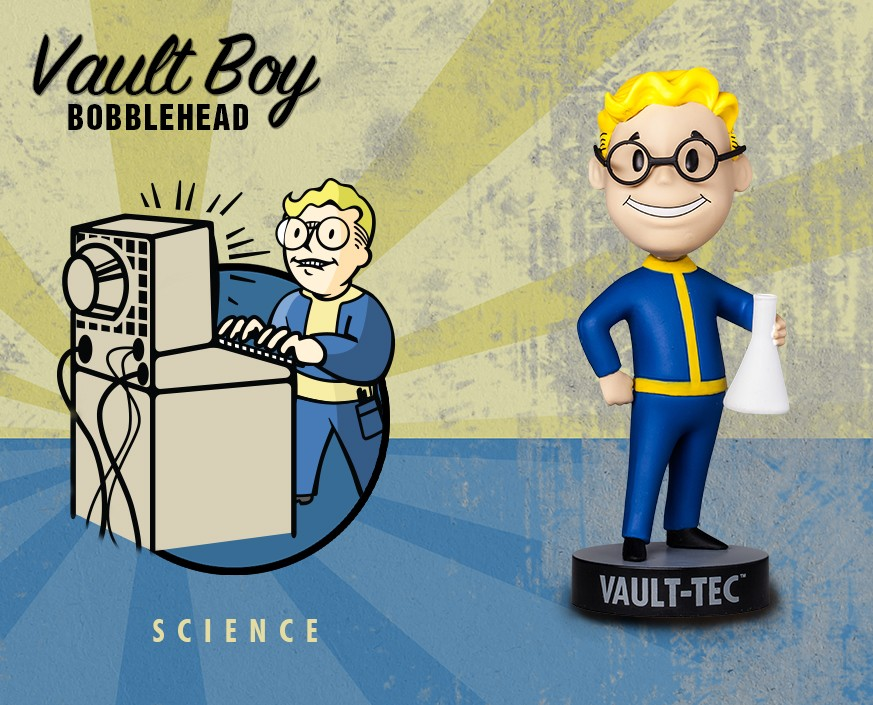 Fallout® 3: Vault Boy 101 Bobbleheads - Series Three: Science