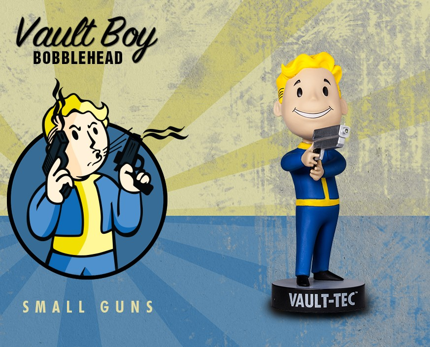Fallout® 3: Vault Boy 101 Bobbleheads - Series Three: Small Guns
