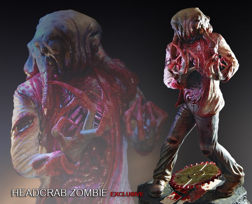 Half Life® 2: Headcrab Zombie Exclusive Statue