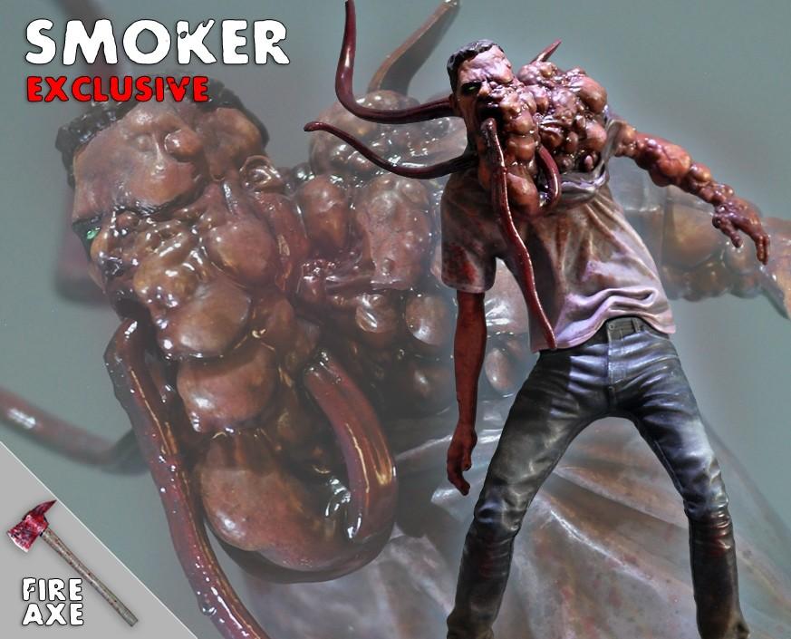 Left 4 Dead 2: Smoker Exclusive Statue