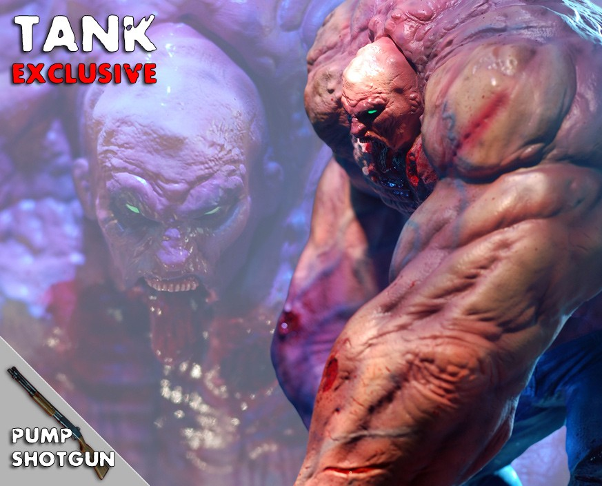 Left 4 Dead 2: Tank Exclusive Statue