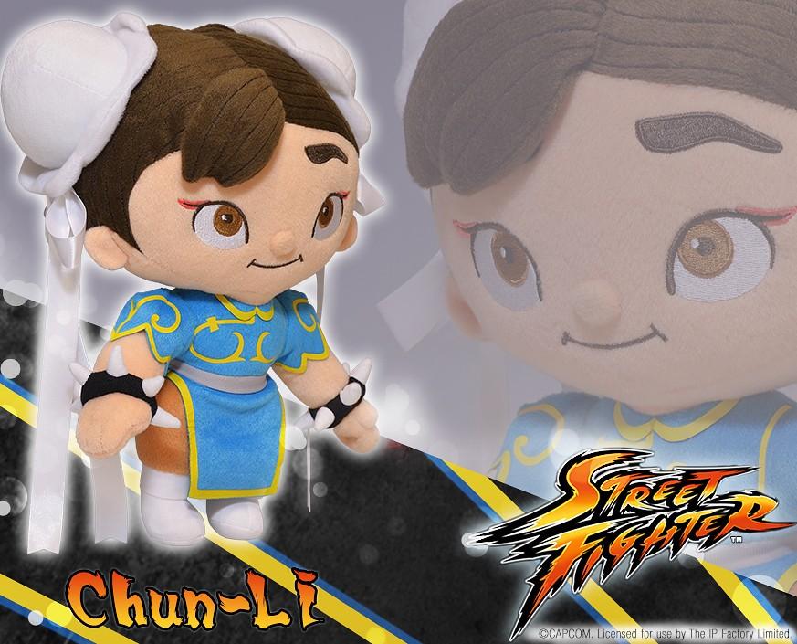 Street Fighter™: Chun-Li Plush