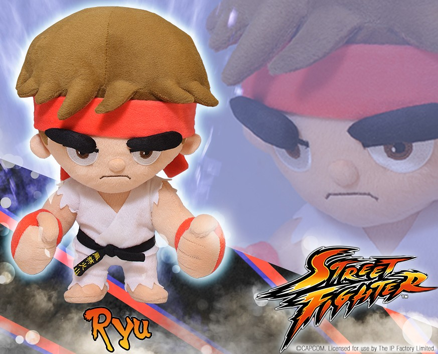 Street Fighter™: Ryu Plush
