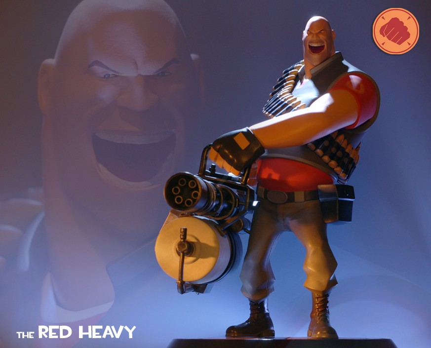 Team Fortress 2: The RED Heavy Statue