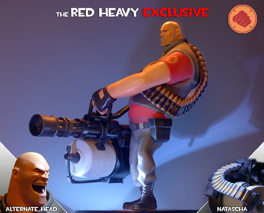 Team Fortress 2: The RED Heavy Exclusive Statue