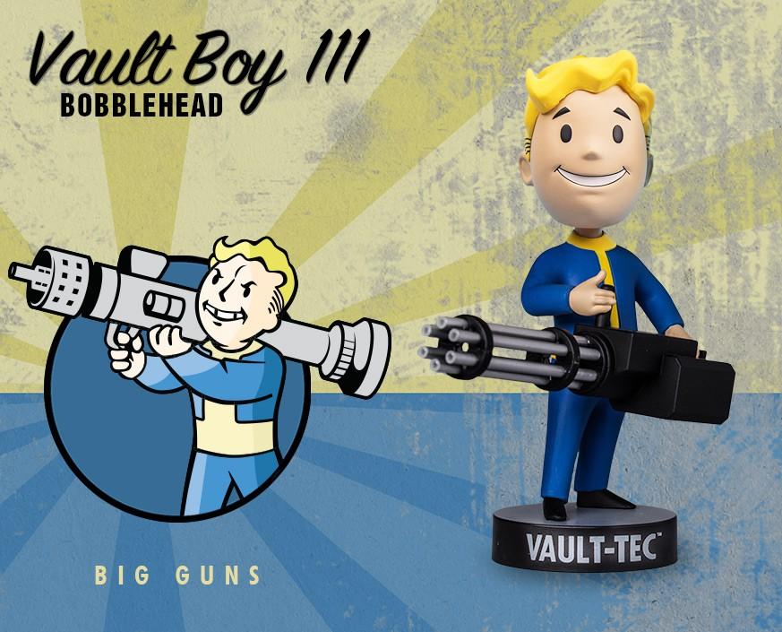 Fallout® 4: Vault Boy 111 Bobbleheads - Series Three: Big Guns