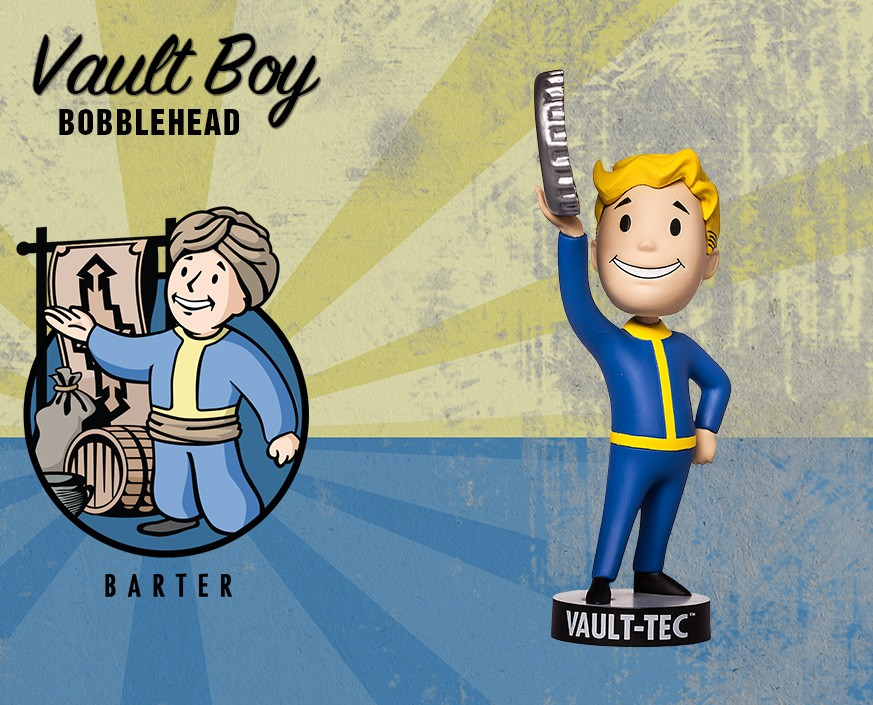 Fallout® 4: Vault Boy 111 Bobbleheads - Series Two: Barter