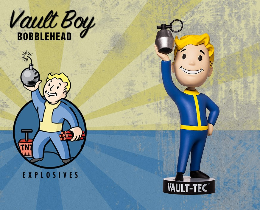 Fallout® 4: Vault Boy 111 Bobbleheads - Series Two: Explosives