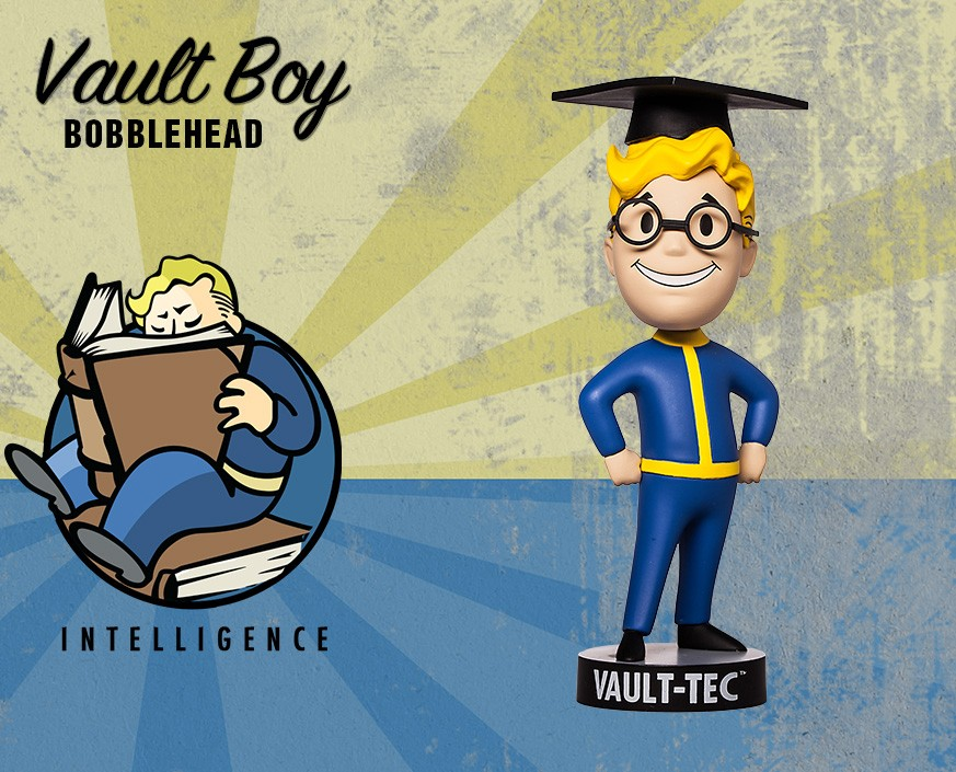 Fallout® 4: Vault Boy 111 Bobbleheads - Series Two: Intelligence