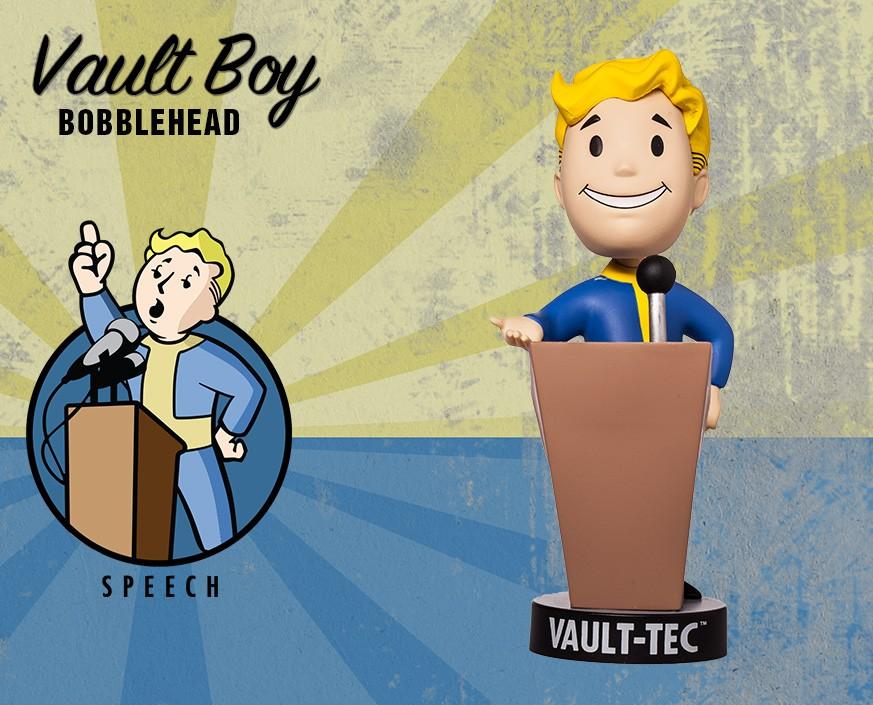 Fallout® 4: Vault Boy 111 Bobbleheads - Series Two: Speech