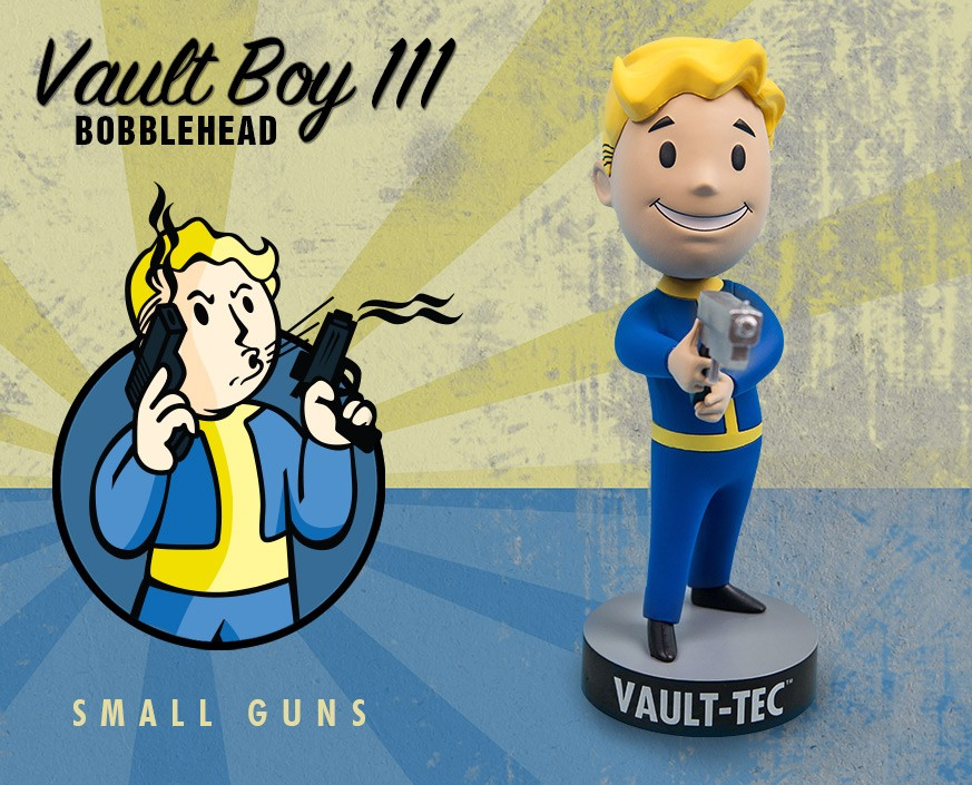 Fallout® 4: Vault Boy 111 Bobbleheads - Series Three: Small Guns
