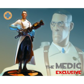 Team Fortress 2: The BLU Medic Exclusive Statue