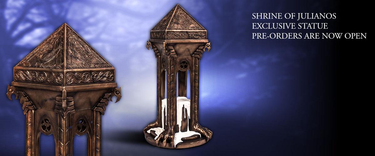 The Elder Scrolls V Skyrim Shrine of Julianos statue