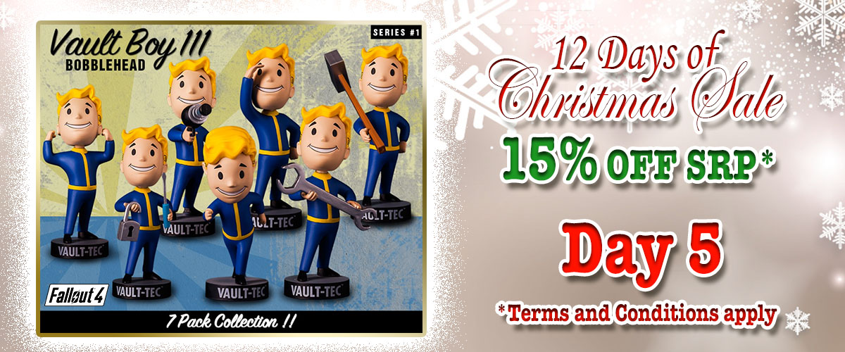 FALLOUT® 4: VAULT BOY 111 BOBBLEHEADS - SERIES ONE 7 PACK