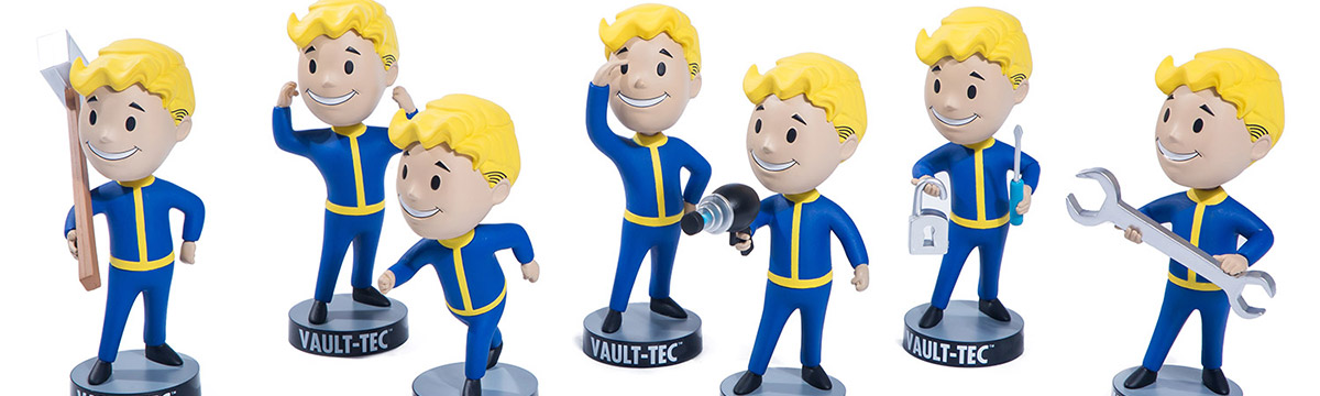 Congrats to Fallout® 76: Vault Boy 76 Bobbleheads - Series One 7 Pack Winners!