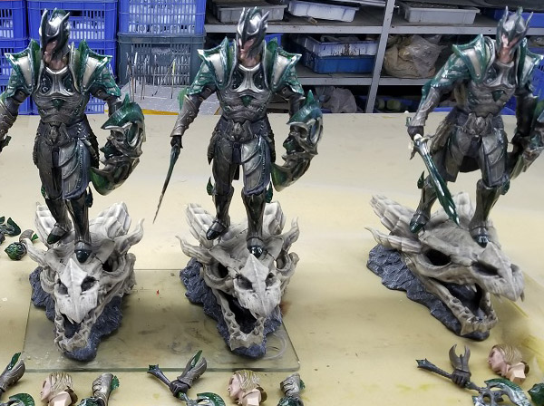 The Elder Scrolls® V: Skyrim™ - Glass Armor pre-production samples