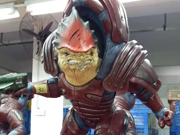 Inspecting Mass Effect™ Wrex