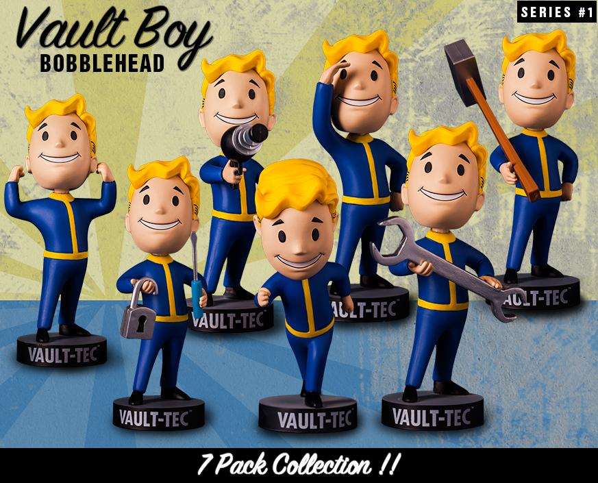 Figurines Neuve Scellé Vault Boy Perception Fallout 76 Bobblehead Bethesda