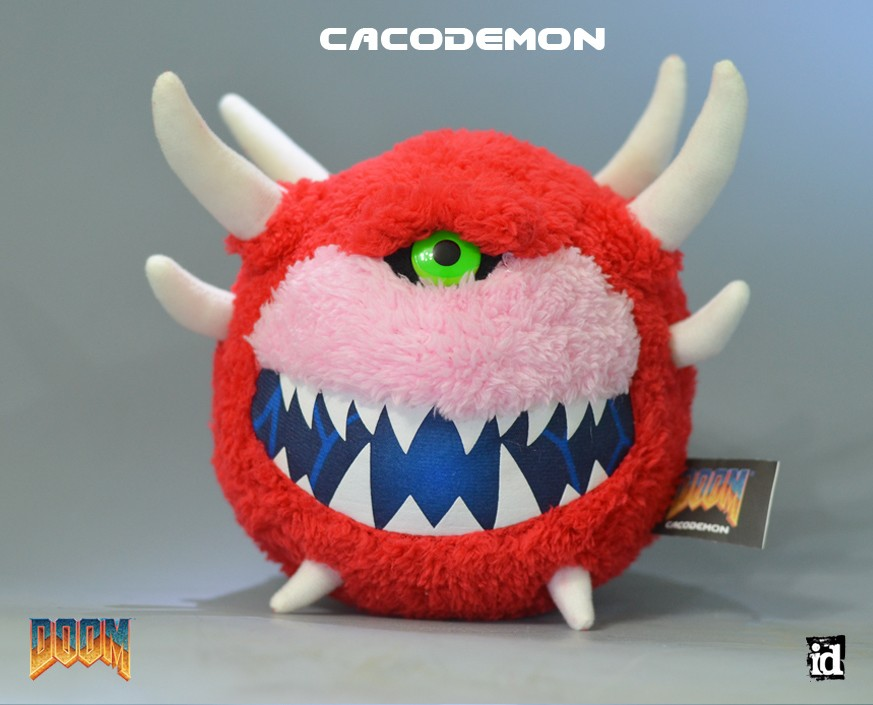 Sly Cooper Stuffed Animal, Doom Cacodemon Plush Gaming Heads