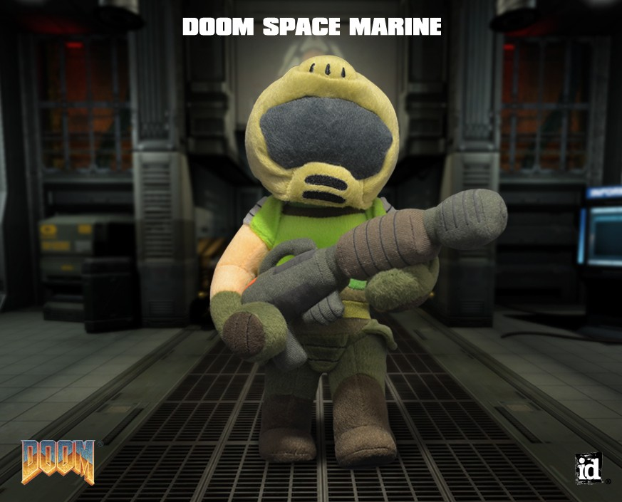 DOOM®: SPACE MARINE PLUSH