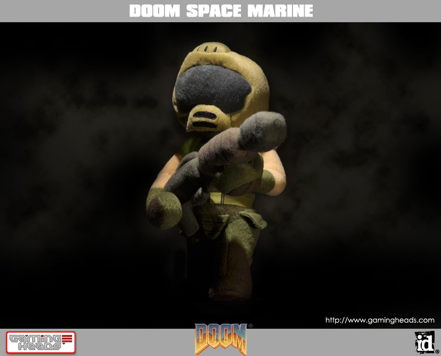 DOOM®: SPACE MARINE PLUSH | Gaming Heads