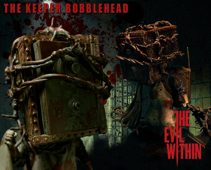 The Evil Within™:The Keeper Bobblehead