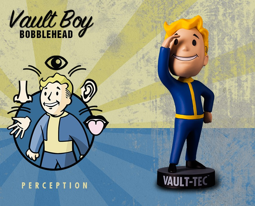 Fallout® 4: Vault Boy 111 Bobbleheads - Series One: Perception