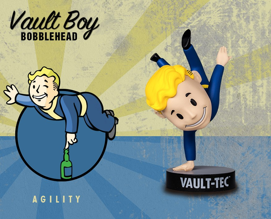 Fallout® 3: Vault Boy 101 Bobbleheads - Series Three: Agility