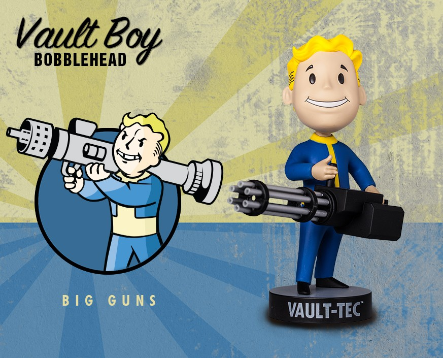 Fallout® 3: Vault Boy 101 Bobbleheads - Series Three: Big Guns