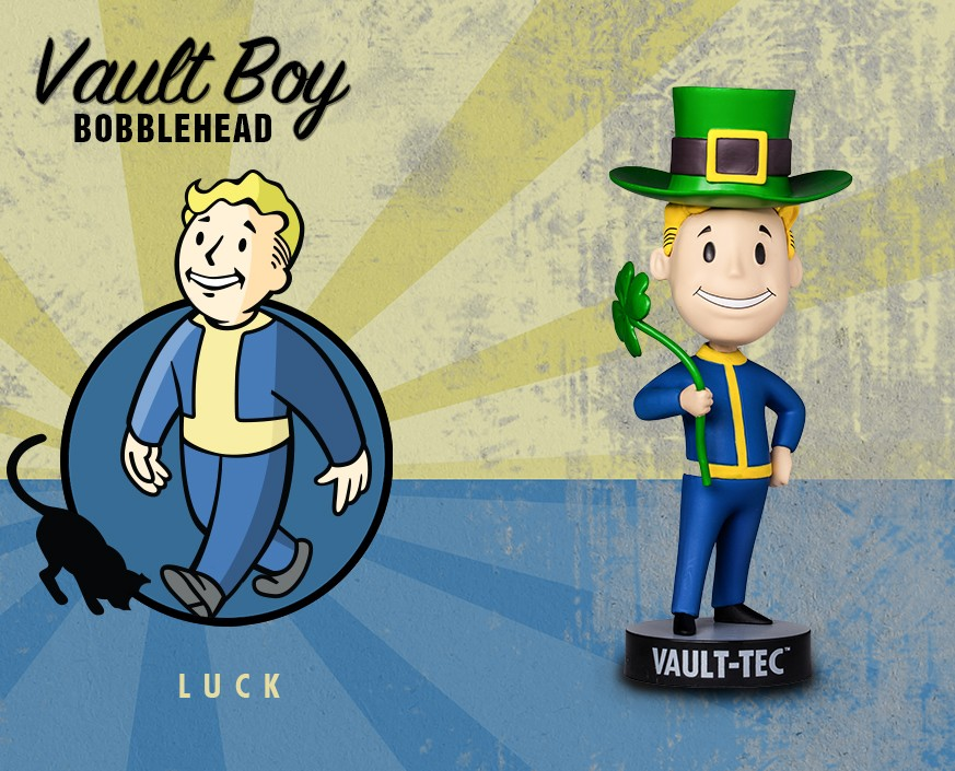 Fallout® 3: Vault Boy 101 Bobbleheads - Series Three: Luck