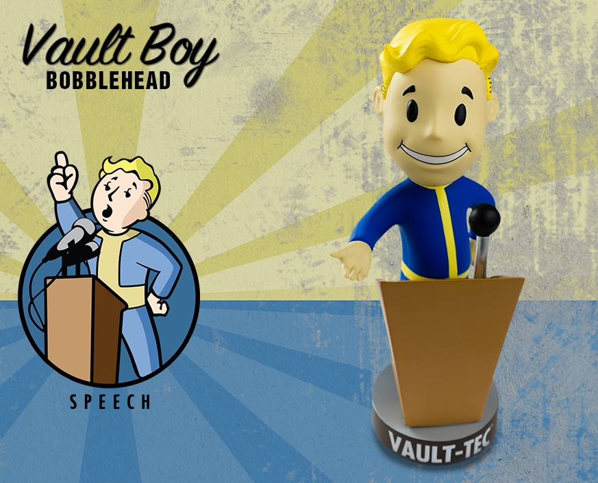 Fallout® 3: Vault Boy 101 Bobbleheads - Series Two: Speech