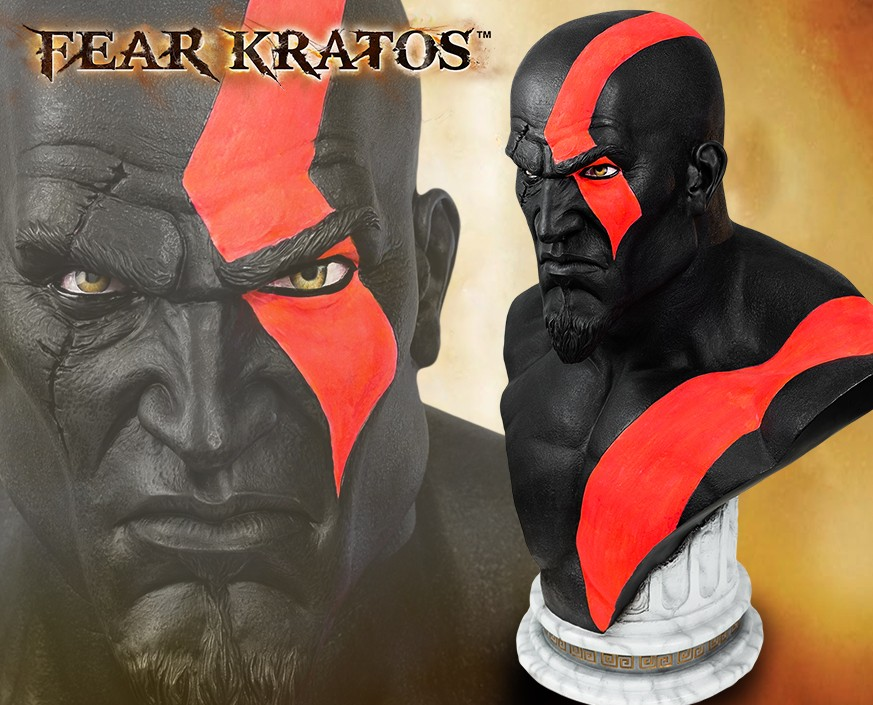 God of War™: Fear Kratos Life Size Bust