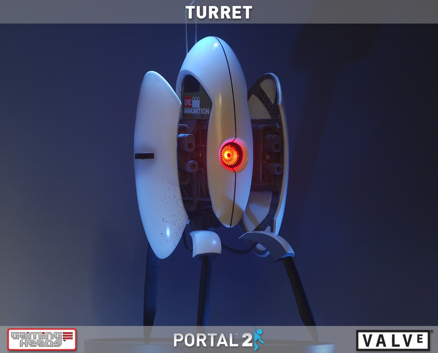 PortalTM2 Turret Statue