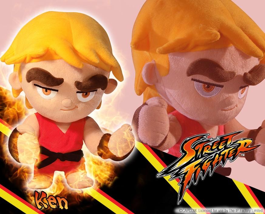 Street Fighter™: Ken Plush