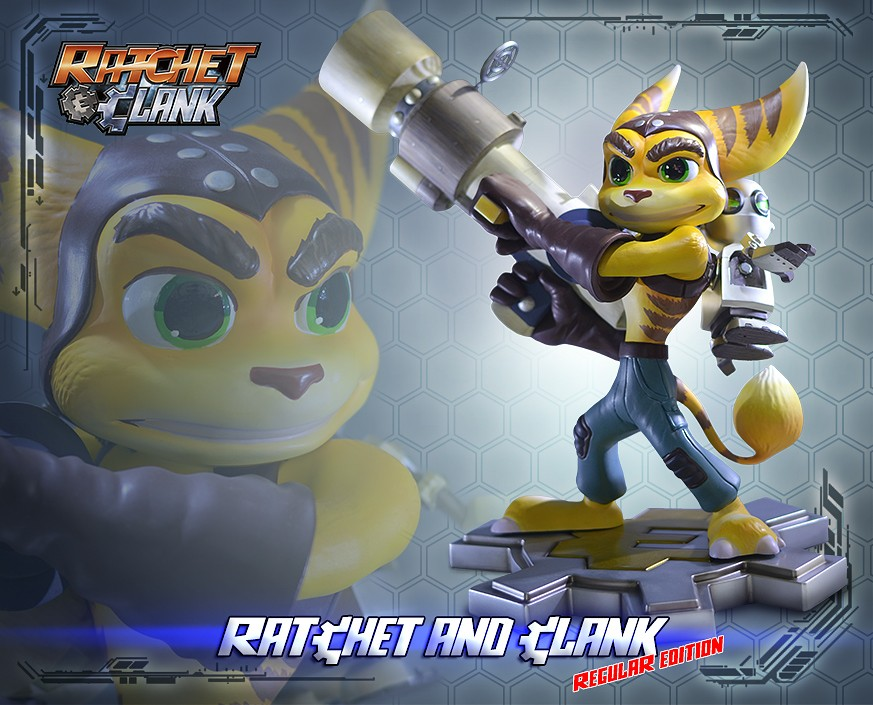 Ratchet and Clank Statue