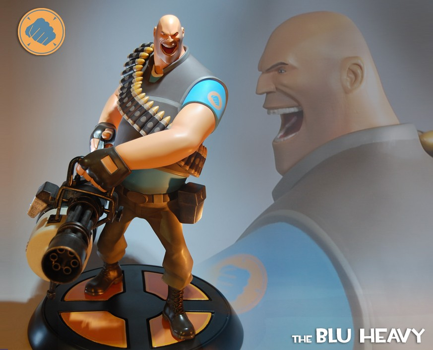 Team Fortress 2: The BLU Heavy Statue