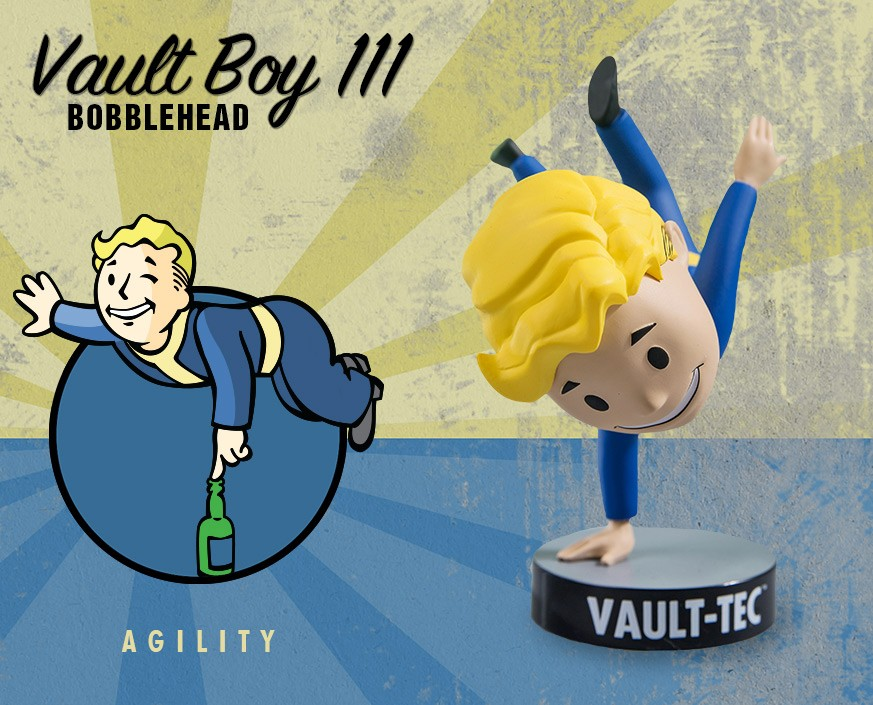 Fallout® 4: Vault Boy 111 Bobbleheads - Series Three: Agility