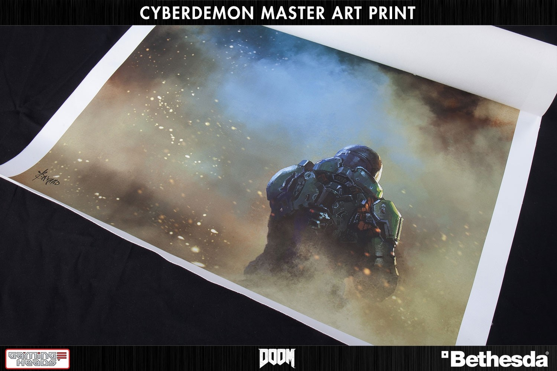 DOOM®: Cyberdemon Master Art Print