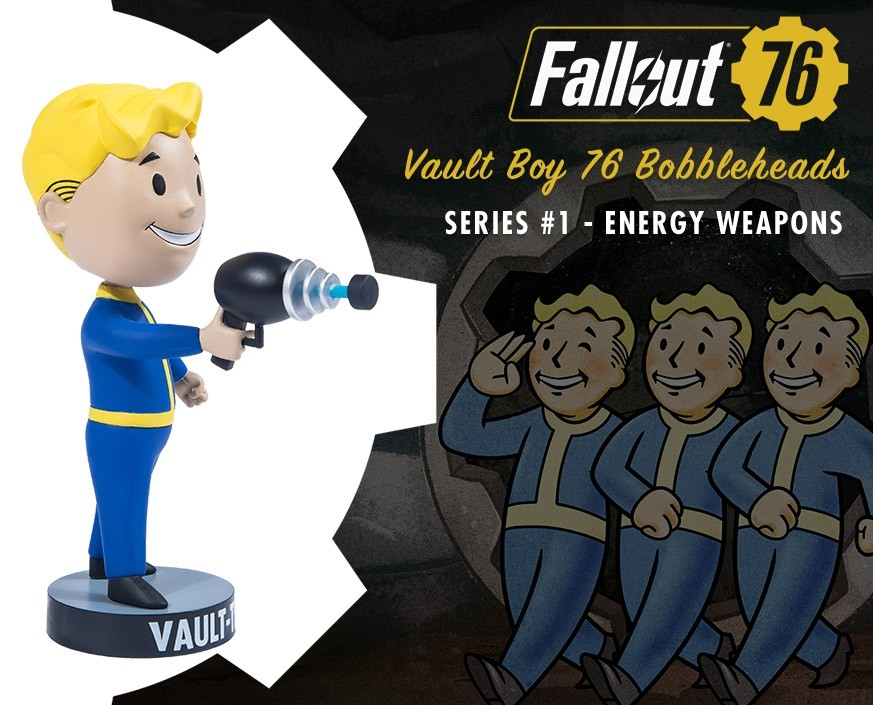Fallout® 76: Vault Boy 76 Bobbleheads - Series One: Energy Weapons