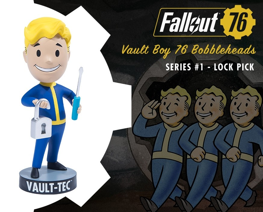 Fallout® 76: Vault Boy 76 Bobbleheads - Series One: Lock Pick
