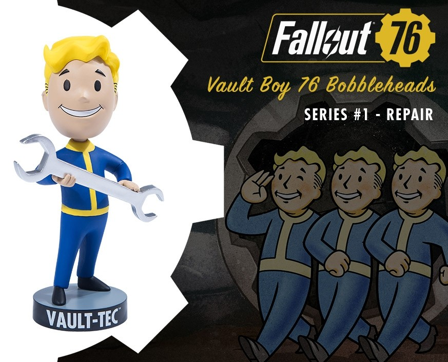 Fallout® 76: Vault Boy 76 Bobbleheads - Series One: Repair