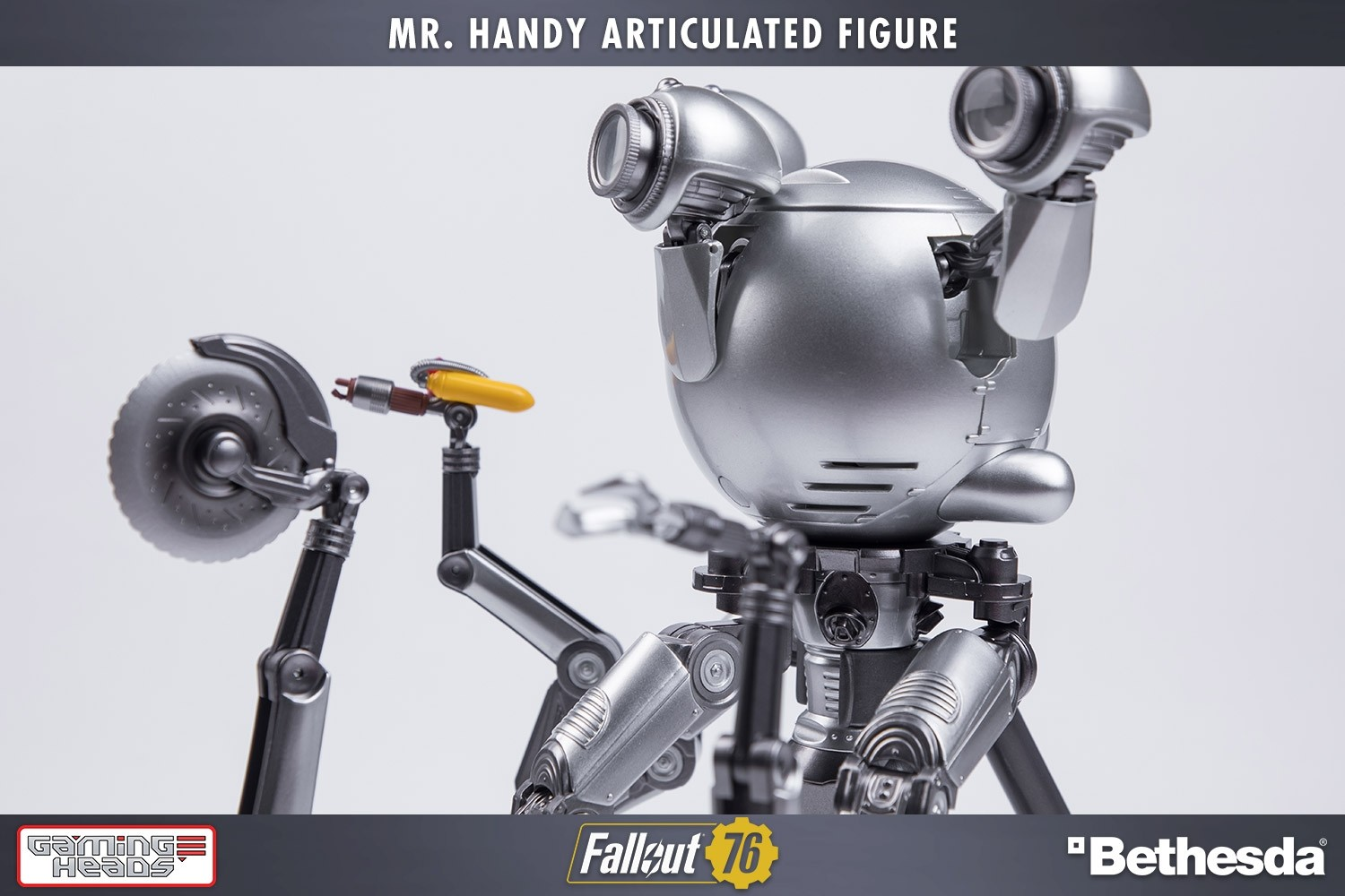Fallout®: Mister Handy Deluxe Articulated Figure