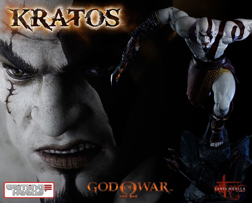 God of War™: Lunging Kratos Statue